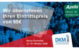 Ihre kostenfreie Eintrittskarte zur DKM 2018