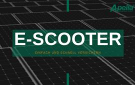 E-Scooter einfach und schnell versichern