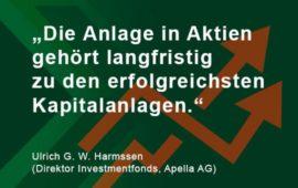 Harmssen sagt: Aktien, was denn sonst!