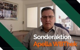Sonderaktion zur Apella WBThek powered by Going Public
