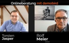 Online Beratung zu Sonderkonditionen mit demobird