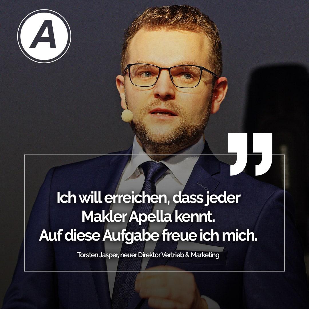Torsten Jasper - Direktor Vertireb und Marketing
